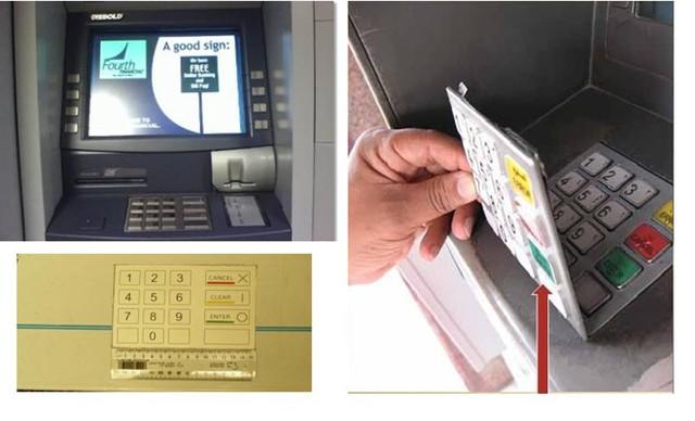 Làm thế nào để không bị đánh cắp thông tin thẻ khi sử dụng máy ATM? - Ảnh 1.