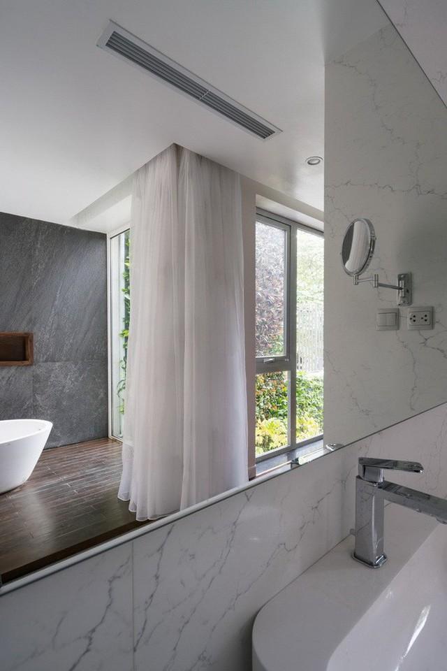 Ngôi nhà mọi không gian đều xanh, sạch, đẹp đến đáng ước ao ở khu đô thị đắt đỏ nhất nhì Hà Nội - Ảnh 21.
