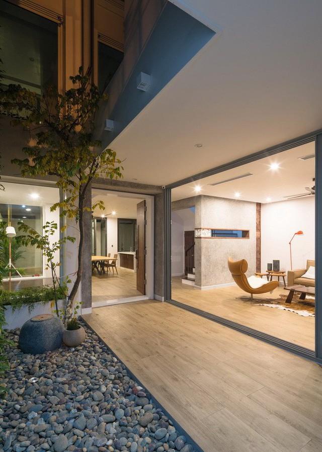 Ngôi nhà mọi không gian đều xanh, sạch, đẹp đến đáng ước ao ở khu đô thị đắt đỏ nhất nhì Hà Nội - Ảnh 7.