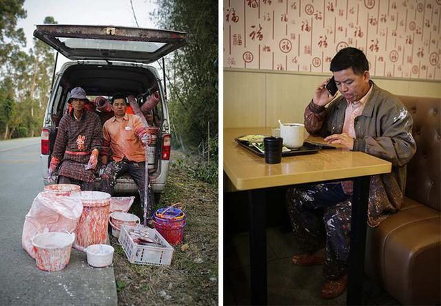 Khởi nghiệp bằng xe đạp, chổi quét sơn, người đàn ông này đã giúp vùng quê Trung Quốc giàu lên nhờ vẽ quảng cáo tường - Ảnh 3.