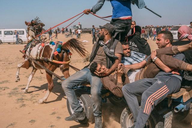 Biên giới Gaza thành cánh đồng chết vì Mỹ mở Đại sứ quán tại Jerusalem - Ảnh 2.
