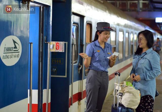 Đường sắt Việt Nam tăng chuyến, thay đổi giờ tàu và thêm một đôi tàu phục vụ suất ăn hàng không miễn phí - Ảnh 1.