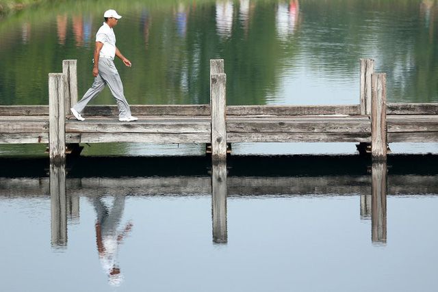 Đã là người hâm mộ golf, chắc chắn không thể quên được những khoảnh khắc đẹp ngút trời của Tiger Woods trong từng mùa giải - Ảnh 29.