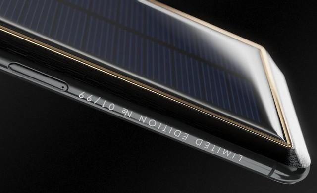 Chiếc iPhone X mạ vàng đắt nhất thế giới dành cho Elon Musk với kiểu dáng vô cùng kì quặc - Ảnh 4.