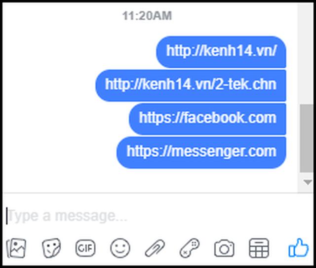Facebook Messenger bản web gặp lỗi gửi link, đây là cách khắc phục chỉ 1 giây là xong - Ảnh 1.
