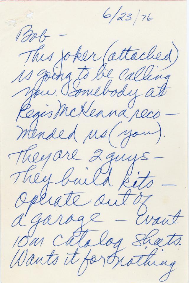 Steve Jobs từng bị một giám đốc tại Silicon Valley gọi là kẻ điên và thằng hề trong bức thư được viết từ năm 1976 - Ảnh 2.