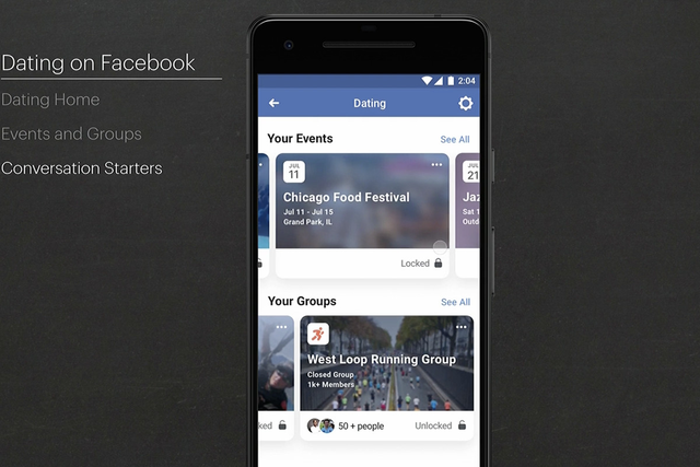 Facebook ra tính năng giúp cả người đã cưới, đang yêu tìm kiếm người để hẹn hò - Ảnh 2.
