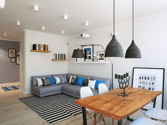 Thiết kế căn hộ sáng tạo theo phong cách Scandinavian - Ảnh 3.