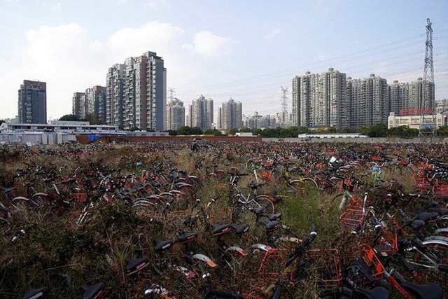 Hãi hùng ngắm nhìn mồ chôn tập thể của hàng triệu chiếc xe đạp tại Trung Quốc - Ảnh 12.