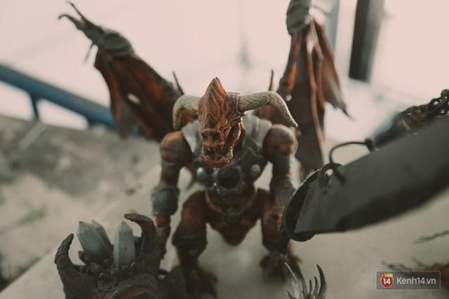 Ghé thăm lò chế tạo mô hình quái vật kinh dị như trong phim Hollywood của nhóm bạn trẻ ở Sài Gòn - Ảnh 21.