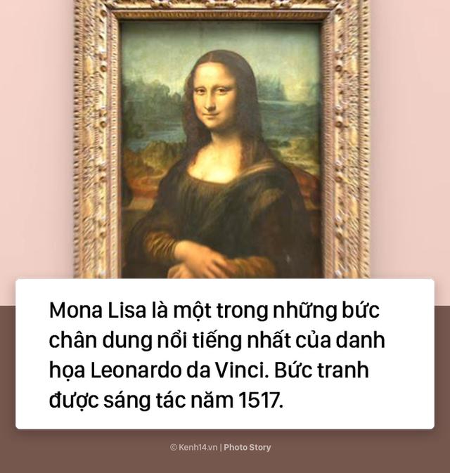 """Lý do không phải ai cũng biết khiến """"Nàng Mona Lisa"""" trở thành bức họa nổi tiếng thế giới - Ảnh 1."""