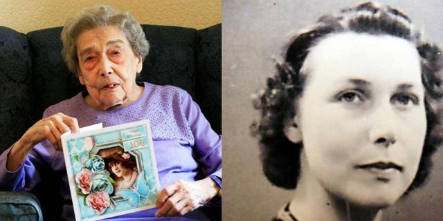 Cụ bà 106 tuổi ở Anh: Tôi sống lâu nhờ không lấy chồng - Ảnh 1.