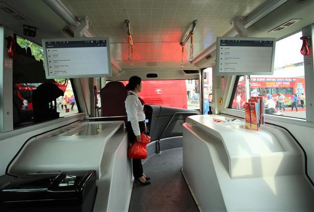 Chi 650.000 đồng đi xe buýt 2 tầng vừa ra mắt, khách hưởng dịch vụ gì? - Ảnh 5.
