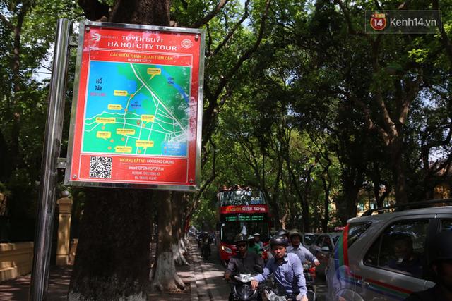 Chính thức khai trương tuyến xe buýt hai tầng mui trần đầu tiên ở Hà Nội: Giá vé 300k/4h - Ảnh 7.