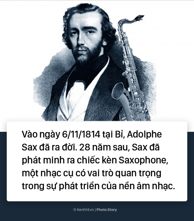 Chết hụt 7 lần, người đàn ông này đã phát minh ra kèn Saxophone - Ảnh 1.
