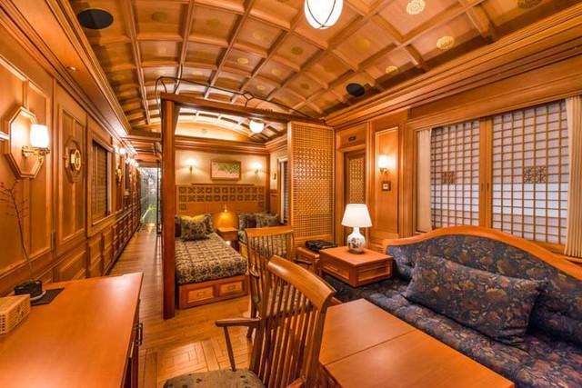 Bên trong tàu 7 sao xa xỉ bậc nhất Nhật Bản - Ảnh 6.