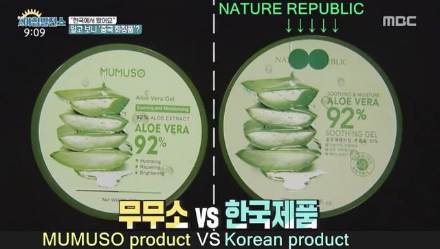 Đài truyền hình Hàn Quốc: Hầu hết 1 vài dòng chữ tiếng Hàn trên sản phẩm của Mumuso là vô nghĩa, đưa ra cảnh báo NTD Việt Nam mua phải đồ nhái mà không biết - Ảnh 1.