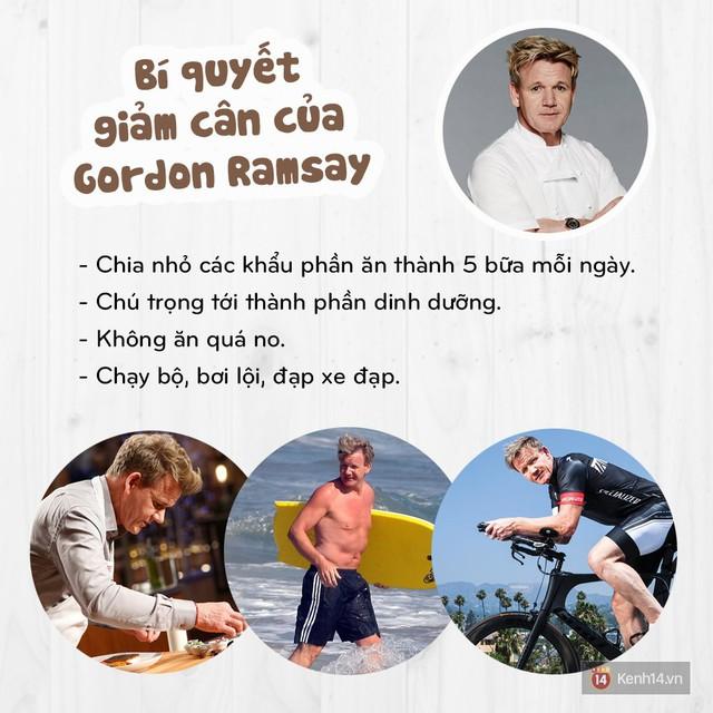 Làm thế nào mà một người yêu đồ ăn như đầu bếp Gordon Ramsay lại có thể giảm được hơn 22kg? - Ảnh 3.