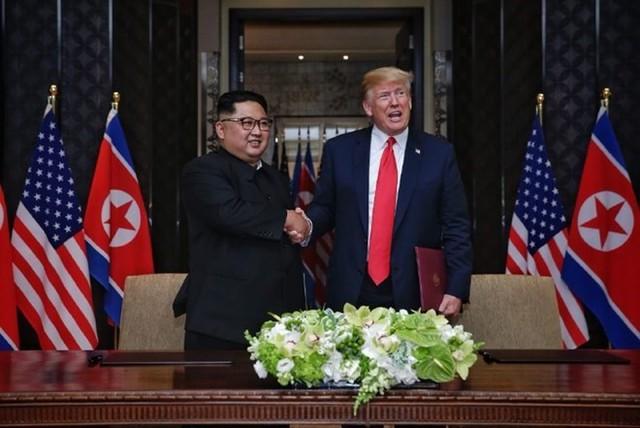 Cộng đồng quốc tế đánh giá ý nghĩa cuộc gặp thượng đỉnh Mỹ-Triều - Ảnh 1.