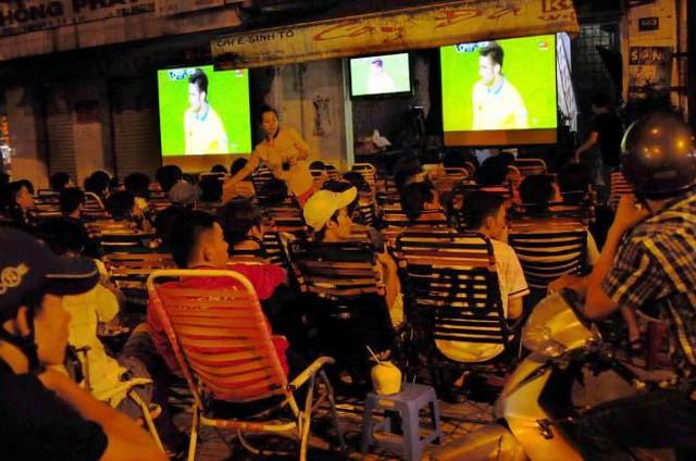 Các tụ điểm cafe bóng đá không được phát World Cup 2018 nếu không xin phép VTV - Ảnh 1.