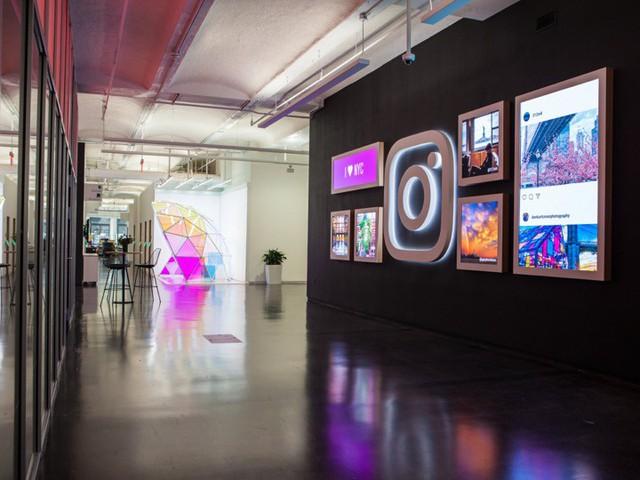 Đột nhập trụ sở mới của Instagram tại New York: có cửa hàng kem, quầy bar, nhiều nơi sống ảo - Ảnh 1.