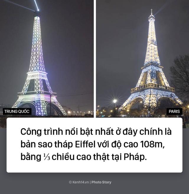 """Tháp Eiffel """"Made in China"""" cứu sống thị trấn ma ở Trung Quốc - Ảnh 6."""