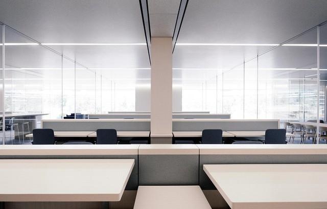 Xem việc ngồi quá nhiều là bệnh ung thư mới - toàn bộ nhân viên Apple Park được trang bị bàn đứng - Ảnh 2.