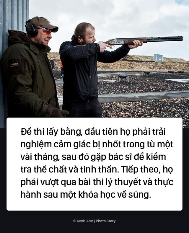 Iceland: Muốn sở hữu 1 khẩu súng bạn phải vào ngồi tù thử vài tháng - Ảnh 5.
