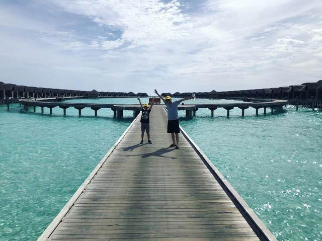 Rộ nghi vấn doanh nhân Nguyễn Quốc Cường chụp ảnh cưới cùng bạn gái tại Maldives - Ảnh 3.
