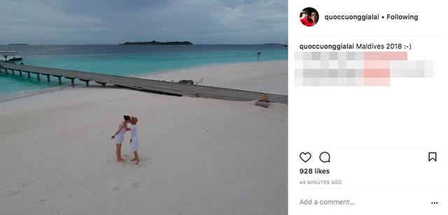 Rộ nghi vấn doanh nhân Nguyễn Quốc Cường chụp ảnh cưới cùng bạn gái tại Maldives - Ảnh 1.