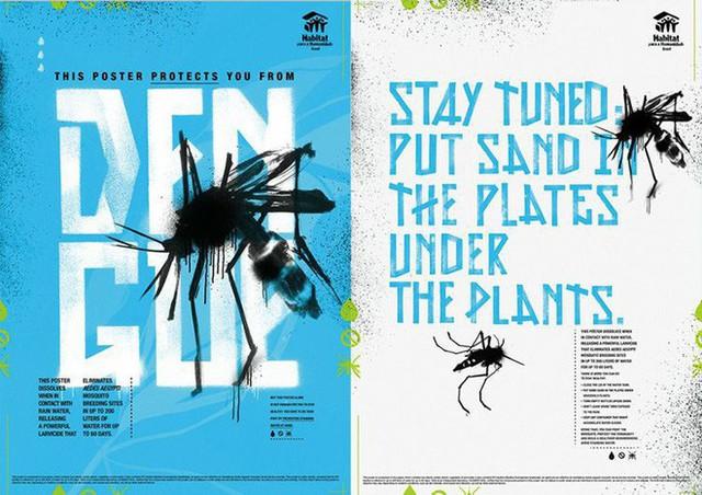 Chuyện thật như đùa: Poster tuyên truyền tan ra trong mưa để diệt trừ muỗi - Ảnh 3.