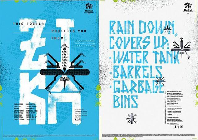 Chuyện thật như đùa: Poster tuyên truyền tan ra trong mưa để diệt trừ muỗi - Ảnh 4.