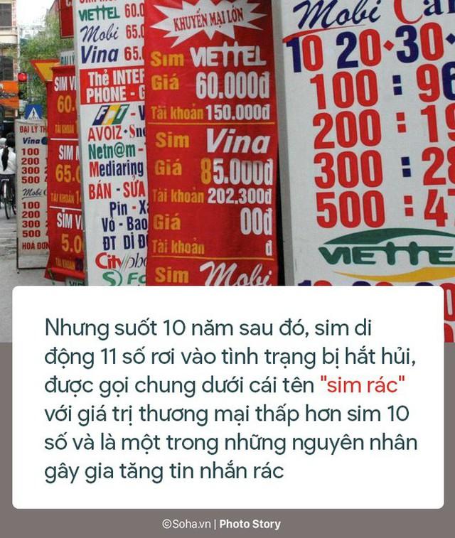 [Photo Story] 10 năm tồn tại của sim rác 11 số - Ảnh 5.