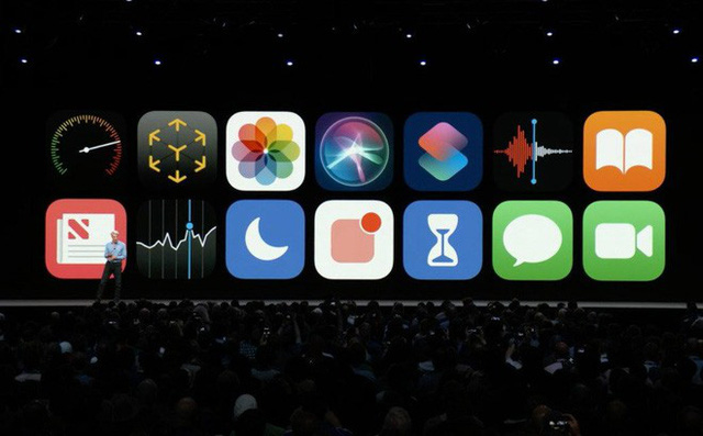[WWDC 2018] Chính thức ra mắt iOS 12: Mở ứng dụng nhanh hơn 40%, camera nhanh hơn 30%, gọi Facetime nhóm, hỗ trợ cả iPhone 5s - Ảnh 1.