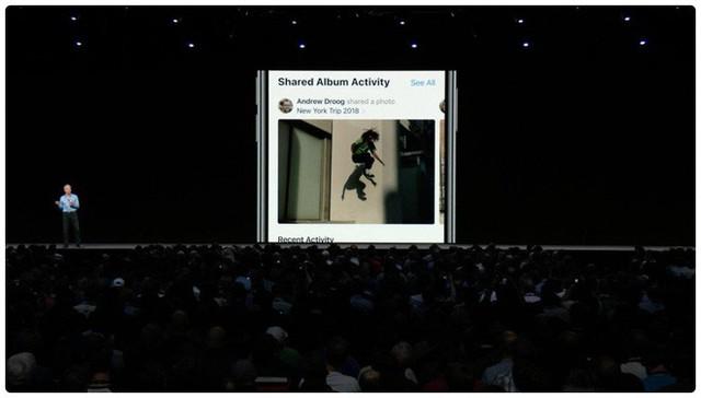 [WWDC 2018] Chính thức ra mắt iOS 12: Mở ứng dụng nhanh hơn 40%, camera nhanh hơn 30%, gọi Facetime nhóm, hỗ trợ cả iPhone 5s - Ảnh 3.