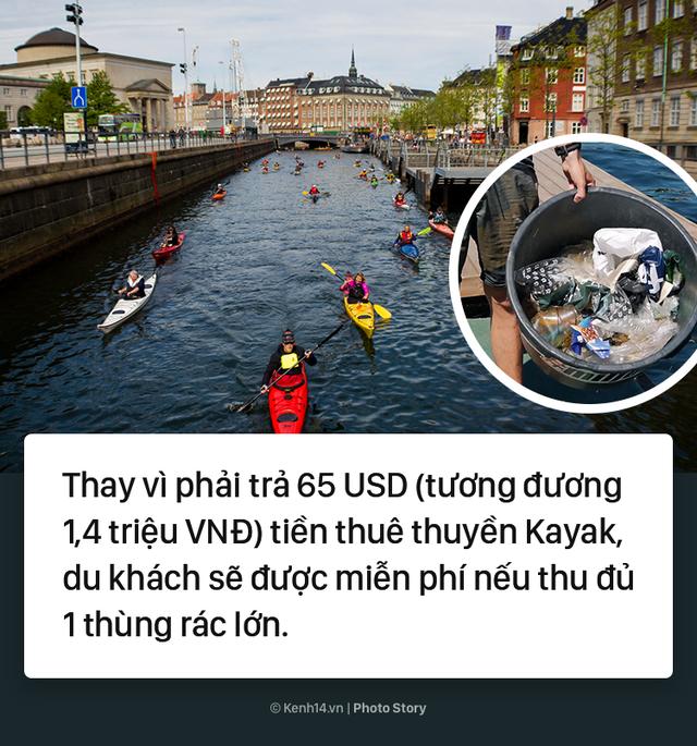 Đan Mạch: Nhặt đủ 1 thùng rác, du khách được thuê thuyền miễn phí - Ảnh 5.
