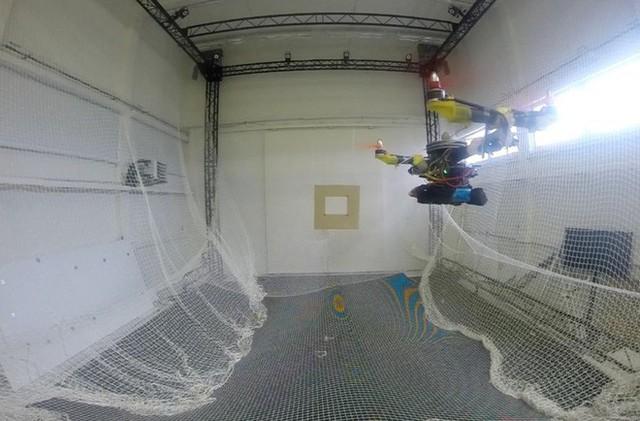 Nghiên cứu thành công robot có thể gập cánh khi bay qua không gian hẹp lấy ý tưởng từ đôi cánh của loài chim - Ảnh 1.