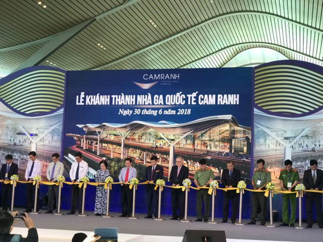 Khánh thành nhà ga quốc tế Cam Ranh quy mô 4,5 triệu lượt khách/năm - Ảnh 1.