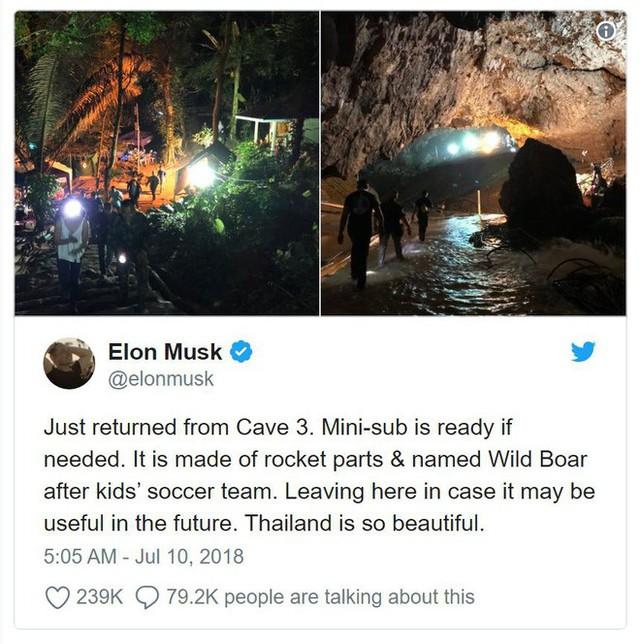 Chính quyền Thái Lan nói tàu ngầm mini của Elon Musk không thực tế đối với cuộc giải cứu - Ảnh 1.