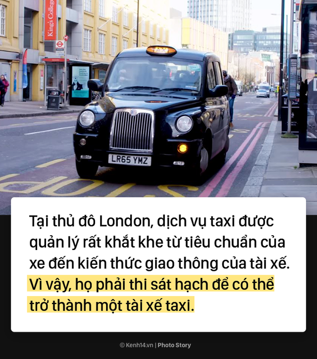 London: Trở thành tài xế taxi khó khăn như thể đi thi đại học - Ảnh 2.