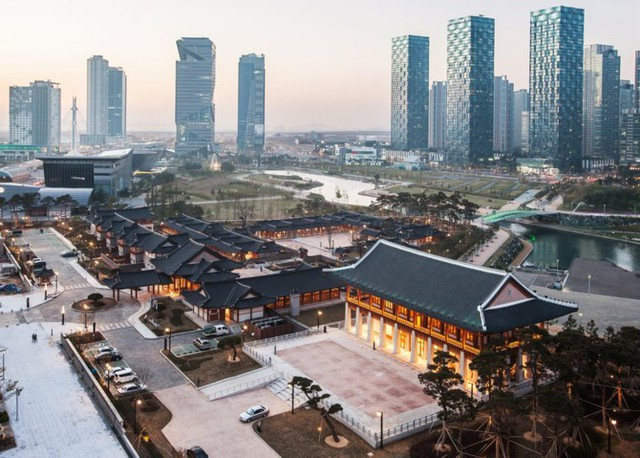 """Bên trong quận kinh tế """"không ô tô"""" 40 tỷ USD của Hàn Quốc - Ảnh 8."""