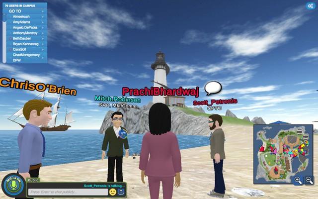 Không cần văn phòng, công ty này cho cả 8.000 nhân viên làm việc trên một... hòn đảo ảo - Ảnh 9.