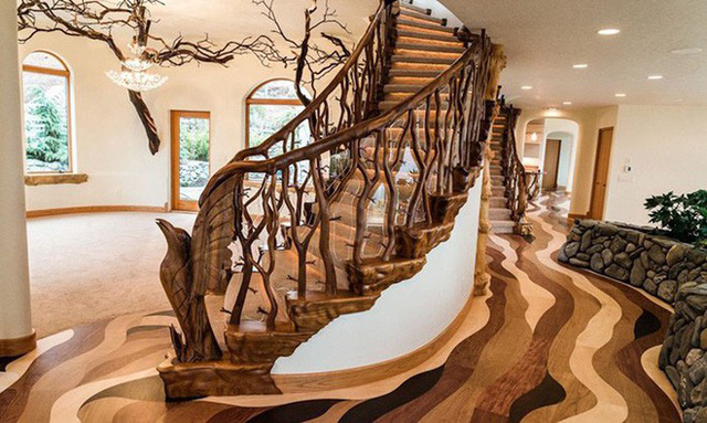 Bên ngoài thì rất bình thường, chỉ khi bước vào trong bạn mới hiểu tại sao ngôi nhà này có giá 7,6 triệu USD - Ảnh 4.