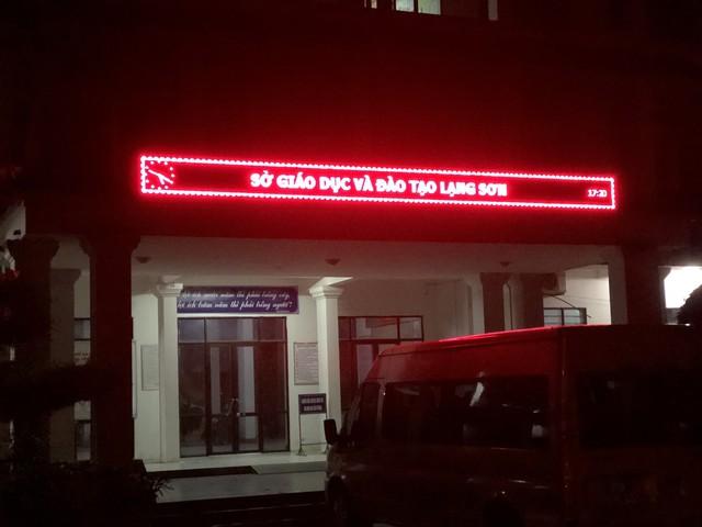 """Tổ công tác Bộ GD&ĐT sau cuộc họp kéo dài 14 tiếng ở Lạng Sơn: """"Có những thông tin đang rà soát về nghi vấn điểm thi, hiện chưa thể tiết lộ"""" - Ảnh 3."""