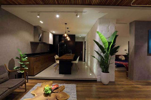 Sau cải tạo, căn hộ 68m² ở Hà Nội này đã trở thành không gian sống kiểu mẫu của nhiều gia đình trẻ - Ảnh 4.