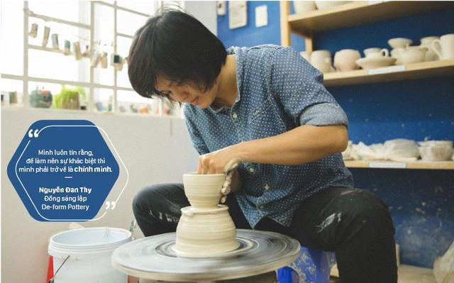 Kinh nghiệm khởi sự kinh doanh từ người đồng sáng lập De-form Pottery - Ảnh 1.