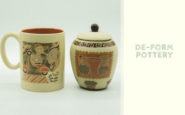 Kinh nghiệm khởi sự kinh doanh từ người đồng sáng lập De-form Pottery - Ảnh 3.