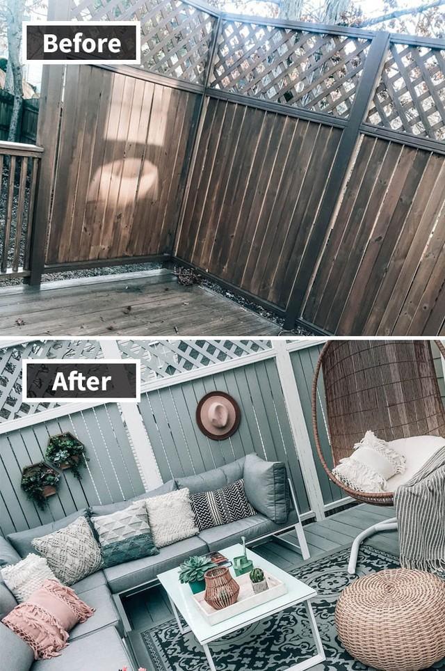 Những hình ảnh trước và sau khi phòng cũ được phù phép thành phòng mới khiến quý khách chẳng thể tin vào mắt mình - Ảnh 2.