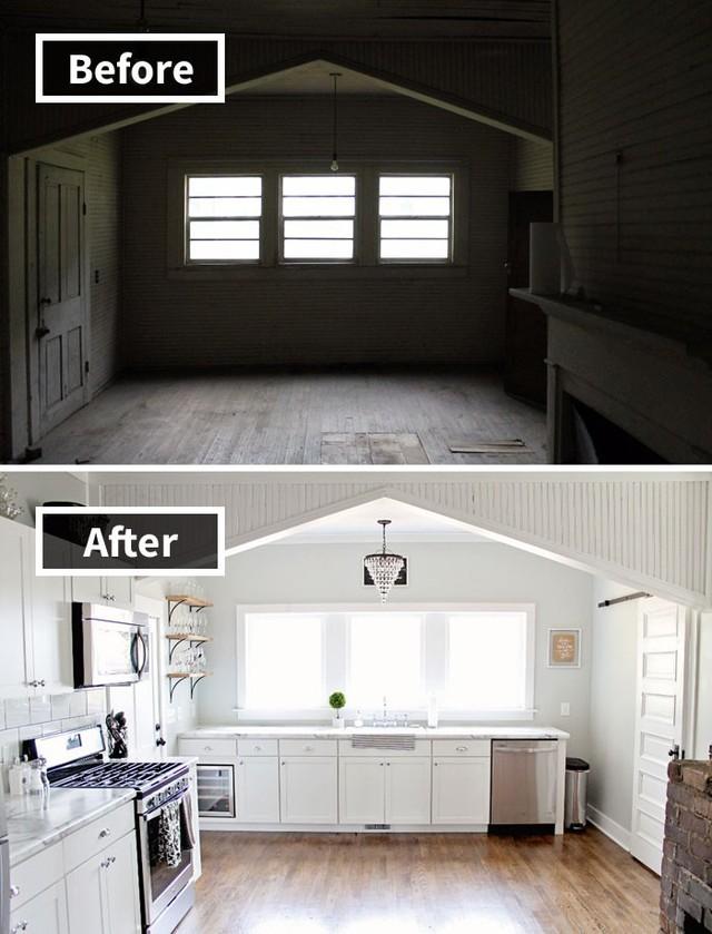 Những hình ảnh trước và sau khi phòng cũ được phù phép thành phòng mới khiến quý khách chẳng thể tin vào mắt mình - Ảnh 11.