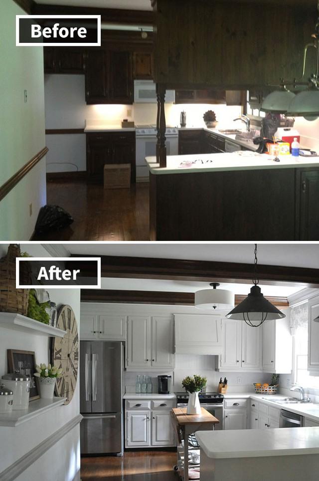 Những hình ảnh trước và sau khi phòng cũ được phù phép thành phòng mới khiến quý khách chẳng thể tin vào mắt mình - Ảnh 14.